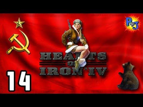 Let's Play Hearts of Iron 4 Soviet Union | HOI4 USSR Elite Gameplay | World Revolution Part 14