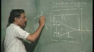 Lecture - 7 Operational Amplifier In Negative Feedback
