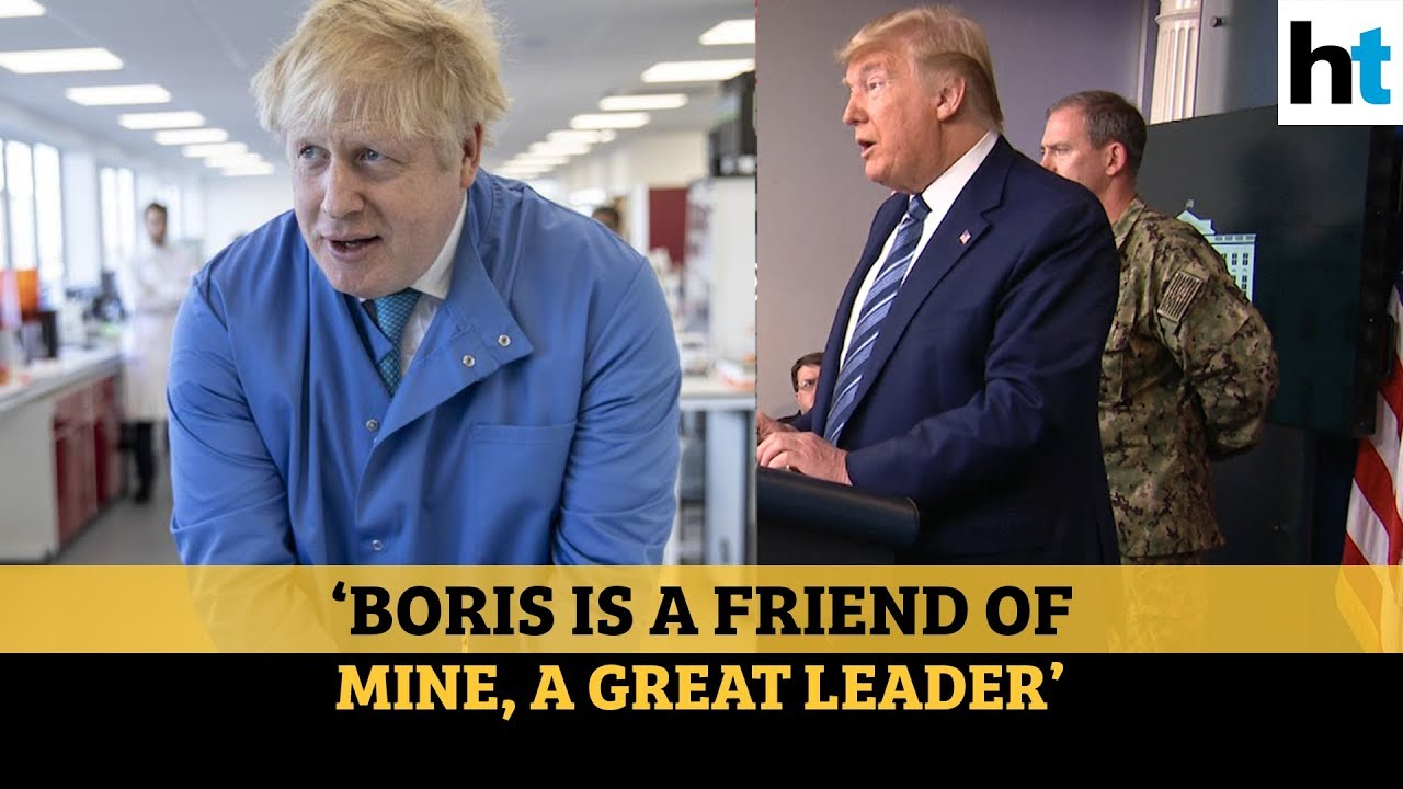 'Americans praying for Boris Johnson': Donald Trump amid UK PM's hospitalization