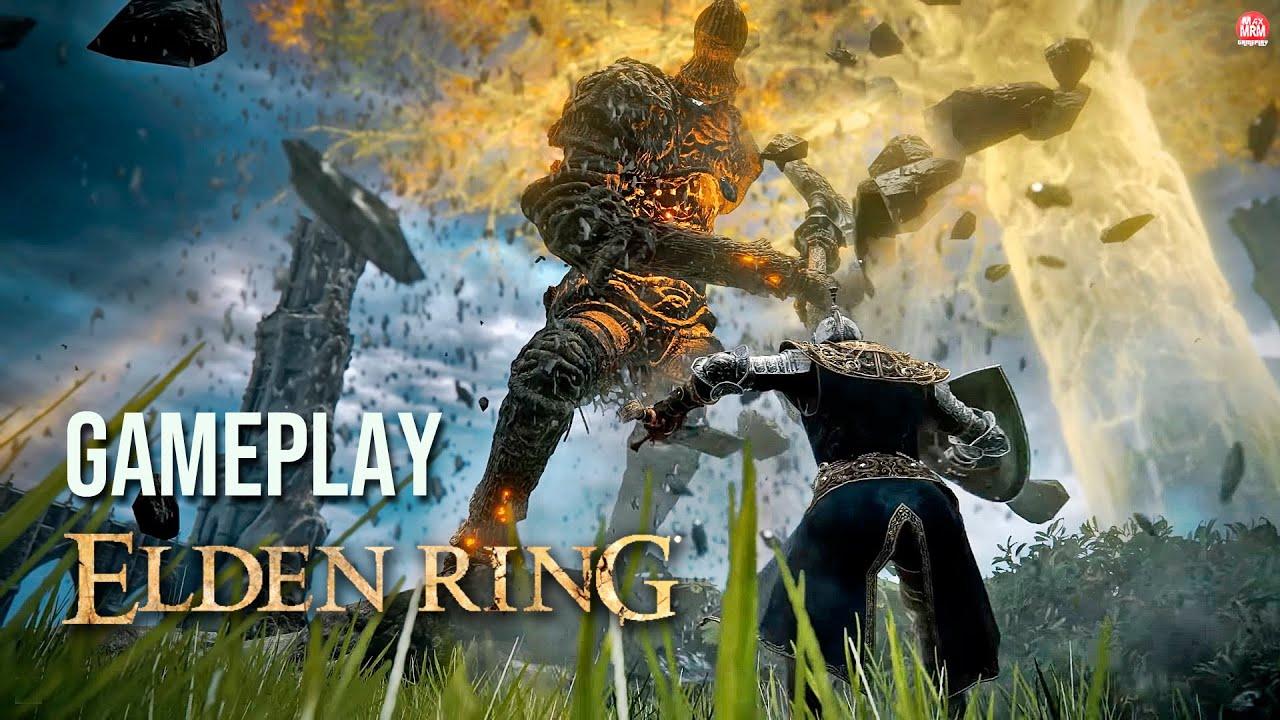 ELDEN RING - GAMEPLAY FINALMENTE, um Dark Souls de Mundo Aberto!? + Data de Lançamento