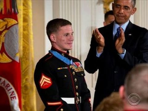 Marine awarded Medal of Honor after absorbing grenade blast