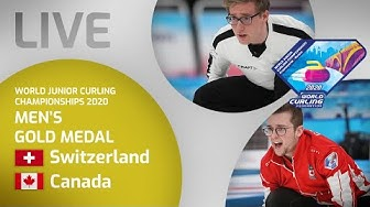 Switzerland v Canada - Men's gold medal - World Junior Curling Championships 2020