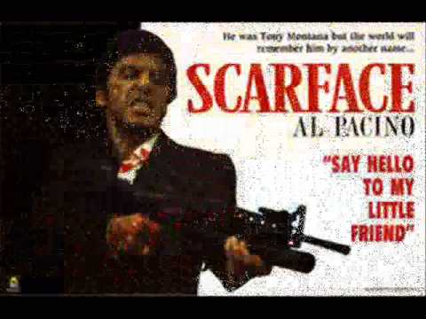 Los barachos el mundo es mio Scarface