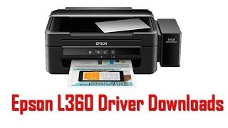 Gambar cover Epson L360 Driver Download | How To Epson L360 Software Install Windows 32 64 bit
