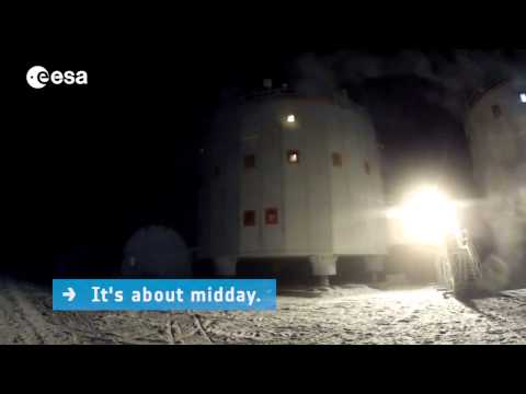 Winter in Antarctica at the Concordia Station | ESA Science HD Video