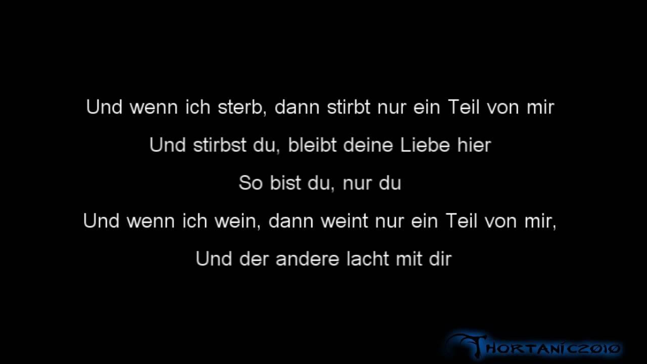 Oli P So Bist Du Original Mit Lyrics Youtube