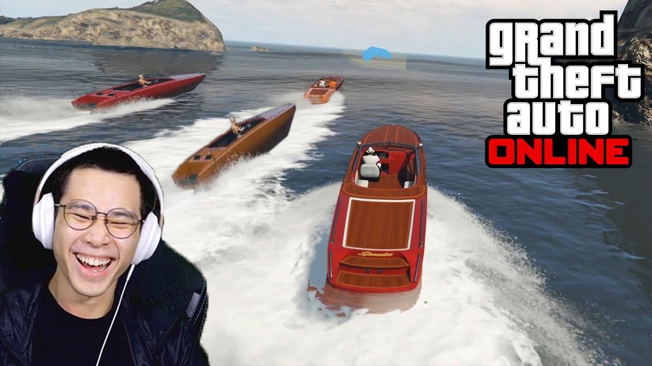 Balapan Gila Bersama Teman - Grand Theft Auto 5 Online (GTA V)