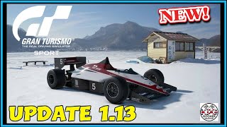 Gran Turismo Sport UPDATE 1.13 | 12 NEW CARS & NEW CIRCUIT & MORE!