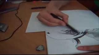 Drawing Setsuna - Gundam