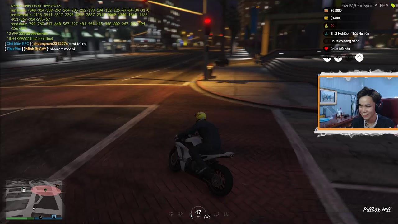 GTA 5 Role Play Đại Ca Thành trung Gà Mờ