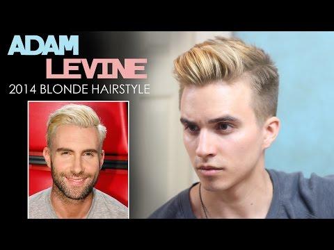 Adam Levine Hairstyle - 2014 Blonde Inspired Hair | Men's Hairstyles