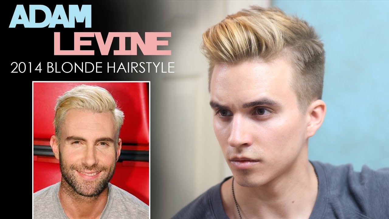 Adam Levine Hairstyle 2014 Blonde Inspired Hair