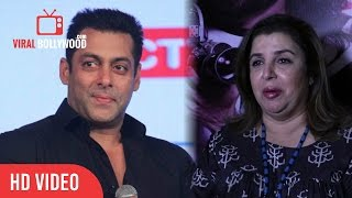 Farah Khan On Salman Khan Getting Married On 18th November | Very Funny