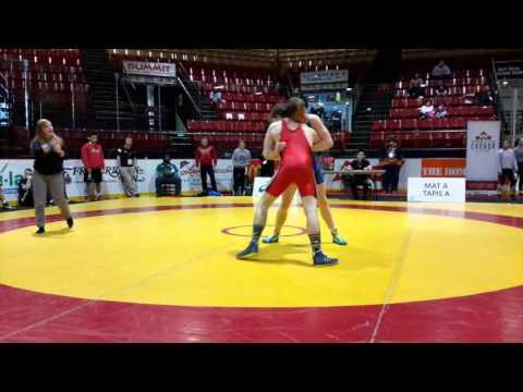 2016 Canadian Junior Championships: 74 kg Aidan McKeage vs. John Fayad