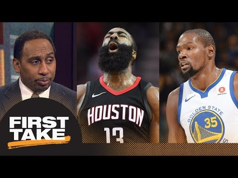 Stephen A. Smith says Warriors should be concerned about Rockets   First Take   ESPN