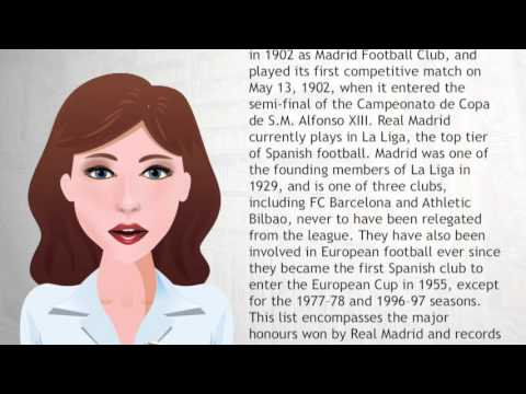 List of Real Madrid C F  records and statistics - Wiki Videos