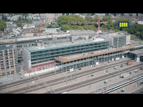 PORR Switzerland: new construction of the office and commercial building Gleisarena