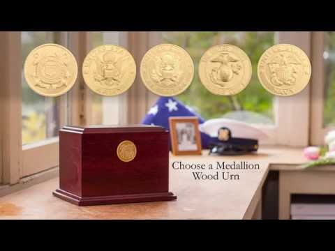 Cremation Urns For Veterans | Product Showcase By Stardust Memorials