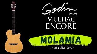 MOLAMIA - Godin Multiac Encore - nylon guitar - dadgad tuning - Sergio Arturo Calonego [test]