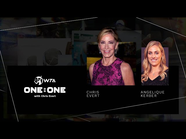 One-on-One with Chris Evert | Episode 3: Angelique Kerber