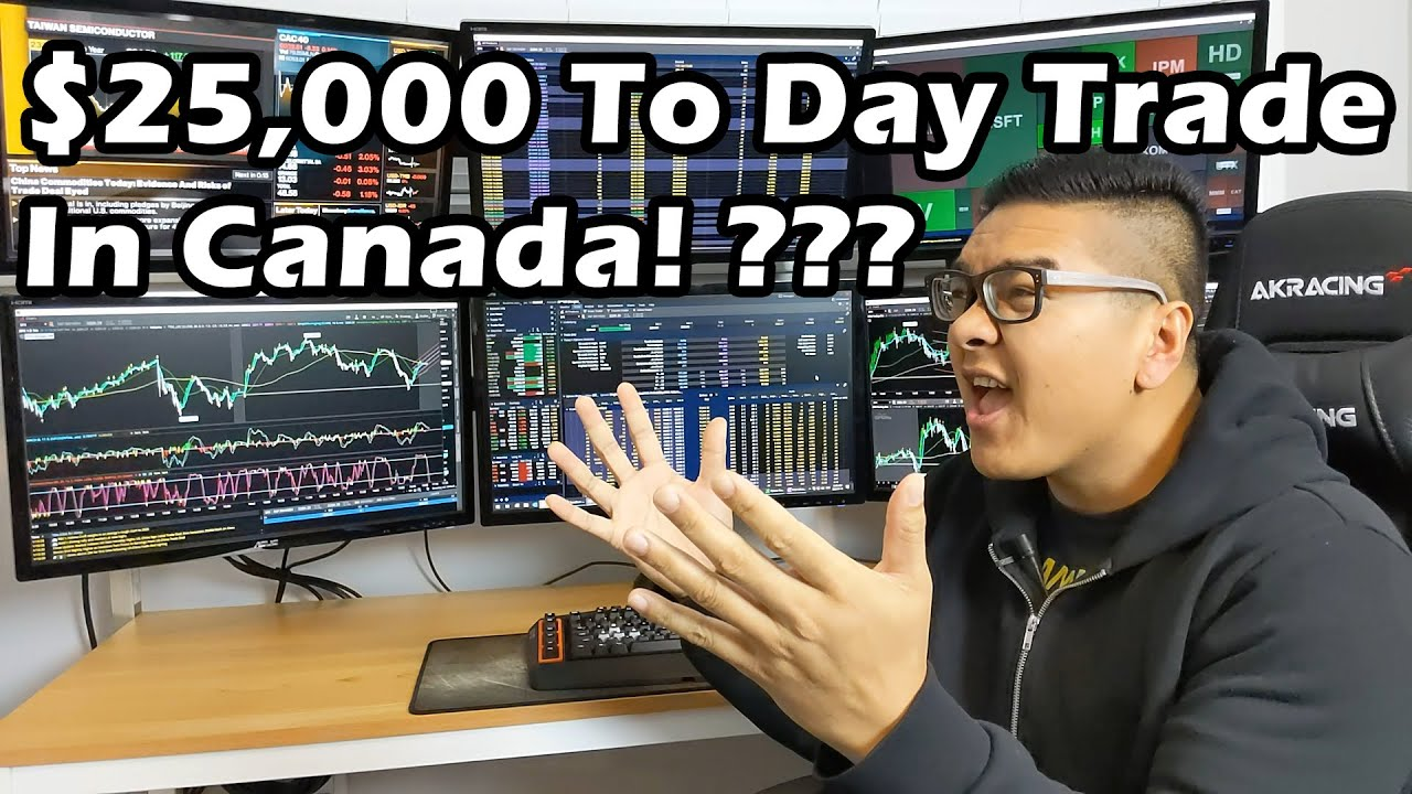 Pattern Day Trader Pdt Rule In Canada Youtube