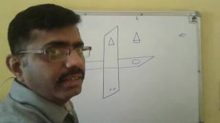 engineering drawing in hindi 1 v p and h p concept
