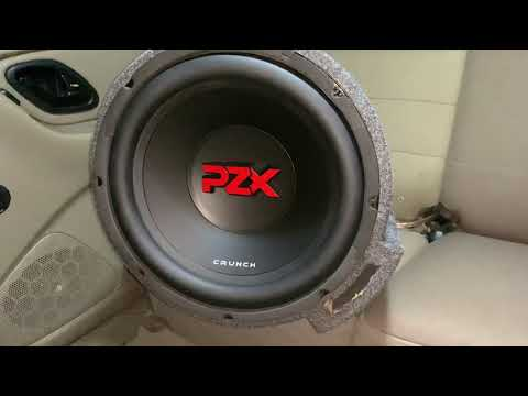 Crunch PZX 600 watts max / 300 rms