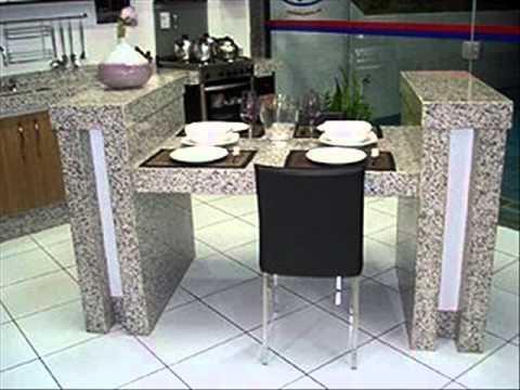 Mesas e cozinhas completa youtube - Mesa de granito ...