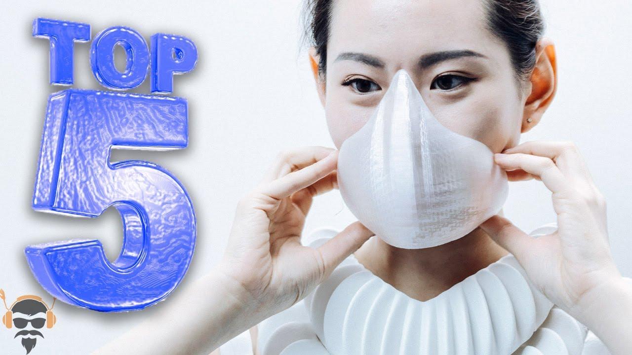 bacteria virus mask
