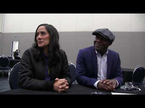 Timeless Interview with Paterson Joseph & Sakina Jaffrey at Wondercon