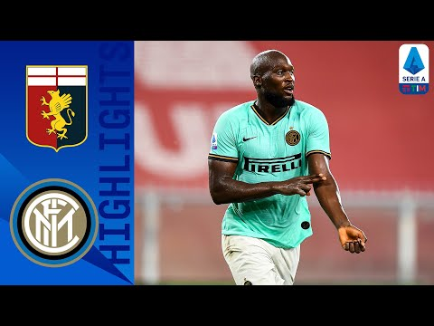 Genoa 0-3 Inter | Lukaku Brace Fires Inter Into Second Place | Serie A TIM