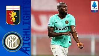 Genoa 0-3 Inter | Lukaku Brace Fires Inter Into Second Place | Serie A TIM