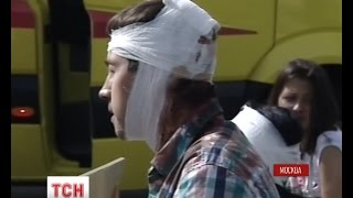 У московській катастрофі метрополітену постраждала українка(, 2014-07-15T21:11:11.000Z)