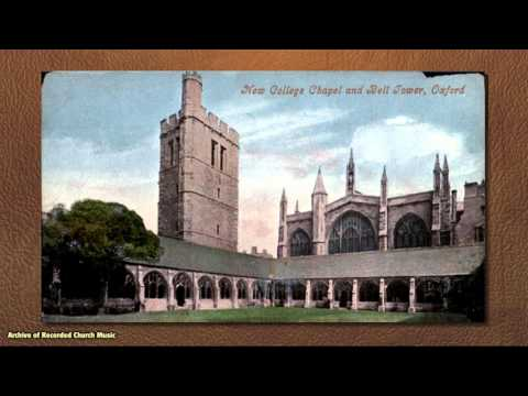 BBC Choral Evensong: New College Oxford 1958 (Meredith Davies)