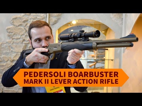 Pedersoli Boarbuster Mark II lever action rifle - all4shooters