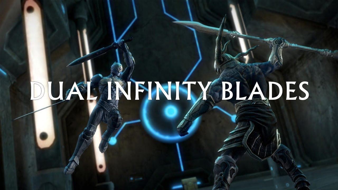 Infinity Blade 3 Soul Hunter How To Get Dual Infinity