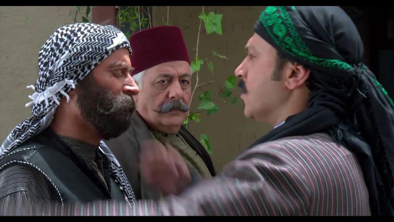العكيد معتز يعتذر من الواوي ويبوس راسو أمام الجميع ، باب الحارة 6 ، مصطفى الخاني ، وائل شرف