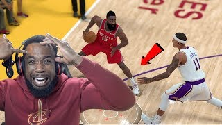 James Harden Won't Stop Traveling! Lakers vs Rockets Playoffs Game 4! NBA 2K19 Ep 64