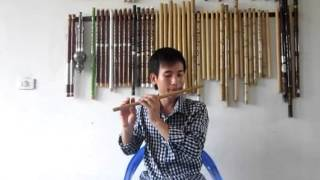 Hướng dẫn Ánh trăng nói hộ lòng tôi -clip 1 - sáo trúc Cao Trí Minh