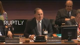 LIVE: OPCW member states hold annual conference in The Hague