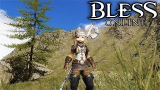 BLESS ONLINE - What to Expect From Questing (Bless Online Gameplay JP Server w English Translation)