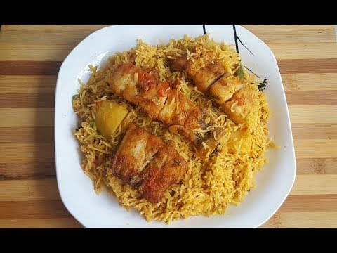 Special Sindhi Fish Pulaao By (YES I CAN COOK)