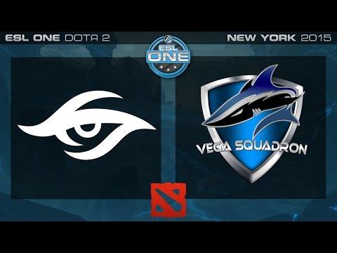 Secret vs. Vega - ESL One New York 2015 - Grand Final G3