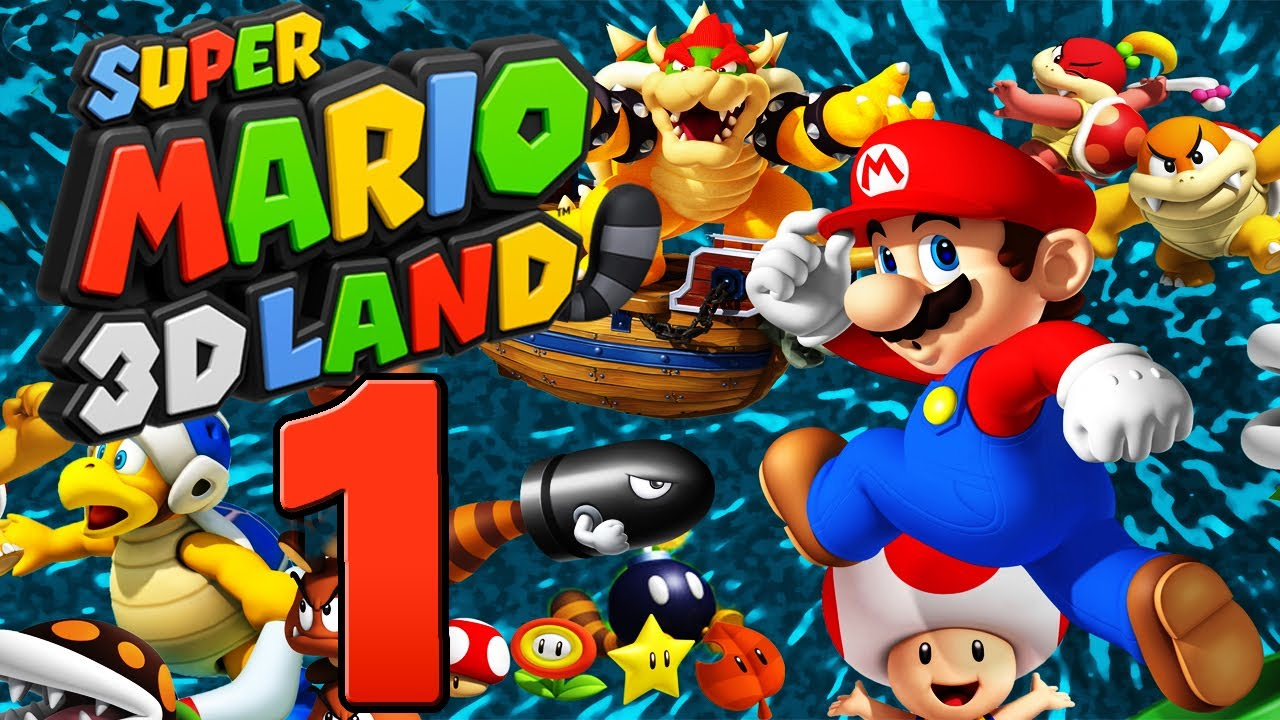 Let's Play Super Mario 3D Land Part 1: Tanookie-Comeback