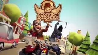 Coffin Dodgers Kart Racing Game Trailer: Full Release -Available now for PC, MAC, Linux.