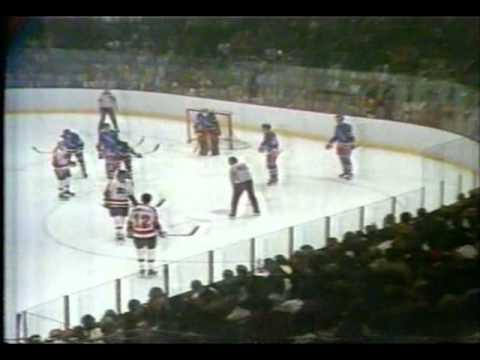 NHL 1974 , ½ SC, game 7: New York Rangers vs Philadelphia Flyers