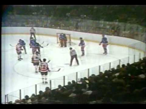 NHL 1974 , ½ SC, game 7: New York Rangers vs Philadelphia Flyers