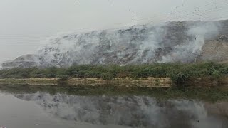 Delhi: Fire breaks out at Ghazipur landfill site