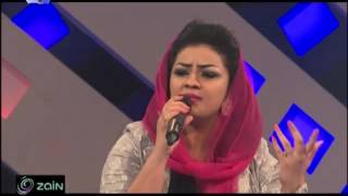 بدر سامي علاه - افراح عصام - أغاني وأغاني - رمضان 2017
