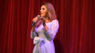 Florencia de la V debutó en Brillantísima
